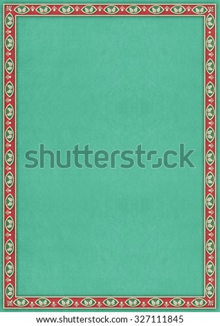 background  for Illustration ,  poster or greeting card with  decorative frame - stock photo