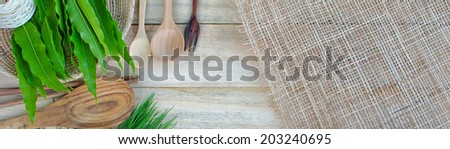 Background for the cooking. - stock photo