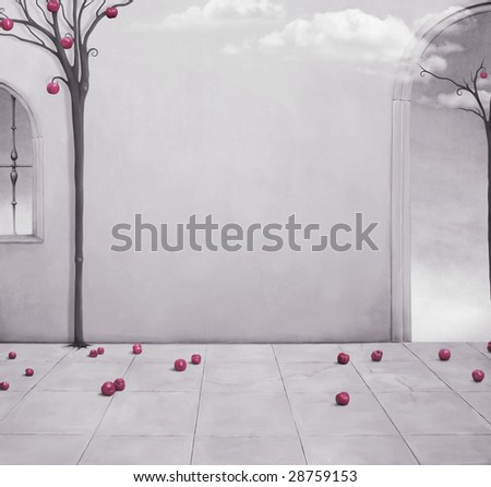Background for the poster - stock photo