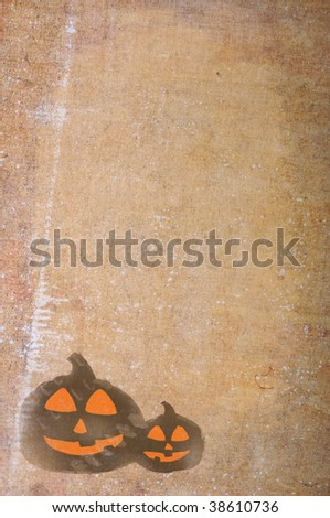 Background for your message, Halloween day - stock photo
