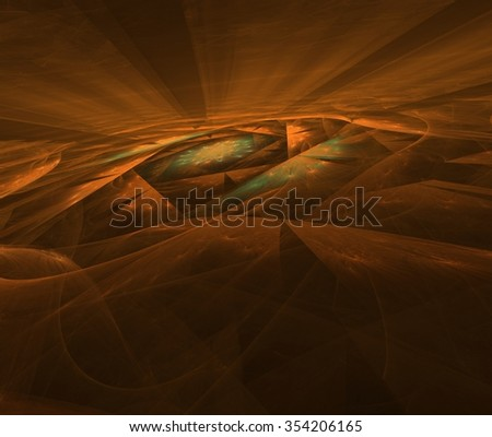 Background Fractal Galaxy deep space - stock photo