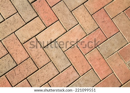 Background from a sidewalk tile - stock photo