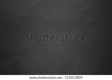 Background from black paper texture. - stock photo