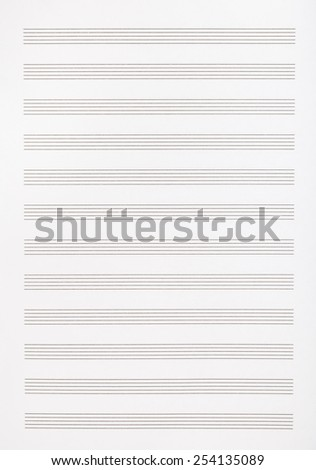 background from blank page of the music book - stock photo