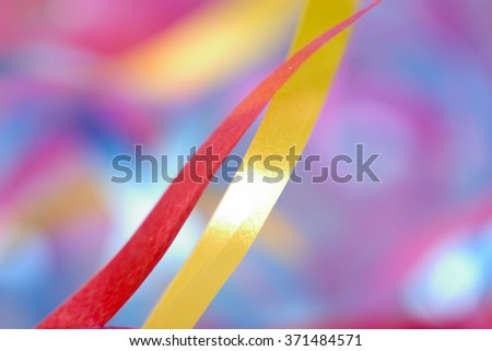 background from colorful ribbon - stock photo