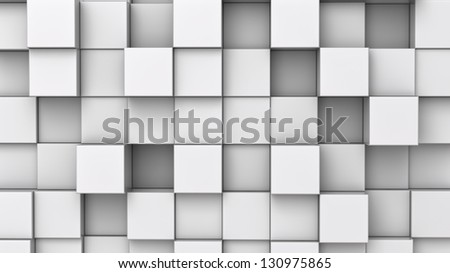 background from extruded squares,  you can overlay your own image - stock photo
