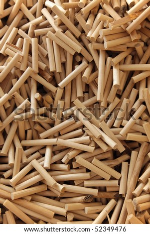 Background from light wooden sticks - stock photo