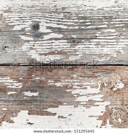 background from old shabby wooden boards close up