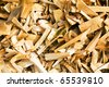 Background from sawdust - stock photo