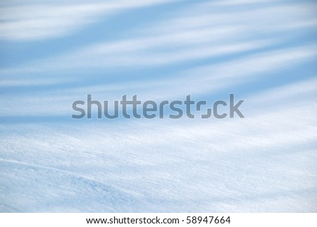 Background from snow shined with the sun - stock photo