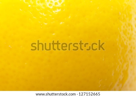 background from the lemon skin. macro - stock photo