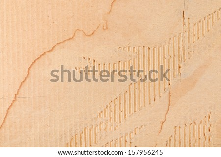 background from torn packaging cardboard - stock photo