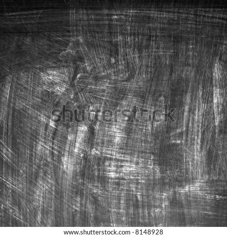 Background image of a black board with chalk marks.