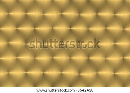 Background image of a hand brushed large metallic plaque. - stock photo