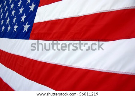 Background image of the United States of America flag - stock photo