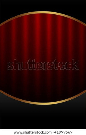 Background in Black and Red Colors with Space for Text - stock photo