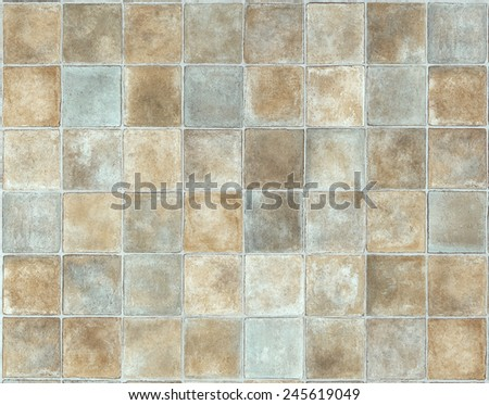 Background in marbled squares  - stock photo