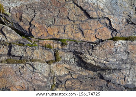Background in the form of natural stone - stock photo