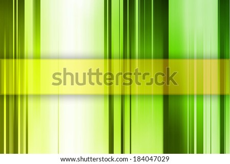 Background in Yellow and Green Color With Place For Text