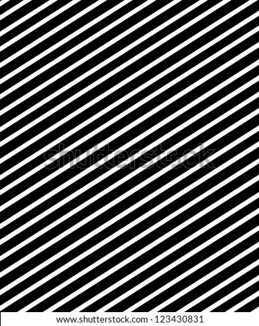 background is covered in diagonal stripes.  Soft shadow lines each stripe. - stock photo