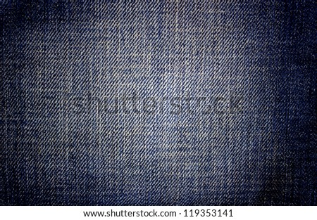Background jeans , closeup view - stock photo