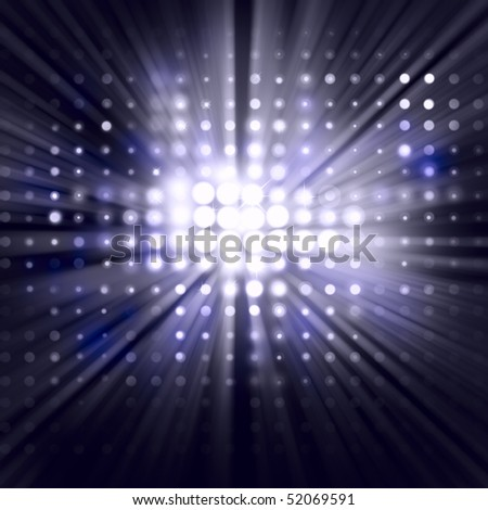 Background light wall - stock photo