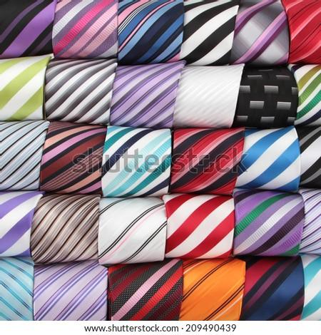 Background luxury tie - stock photo