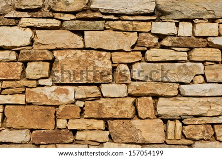 Background made from old brick wall