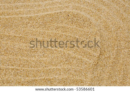 background made of a close up of sand - stock photo