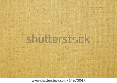 background made of a closeup of a blank old canvas - stock photo