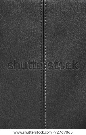 background made of a closeup of a leather texture - stock photo