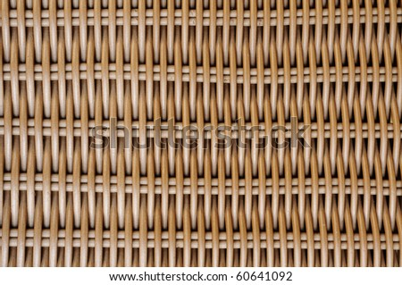 background made of a closeup of a wickerwork - stock photo