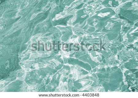background made of green water
