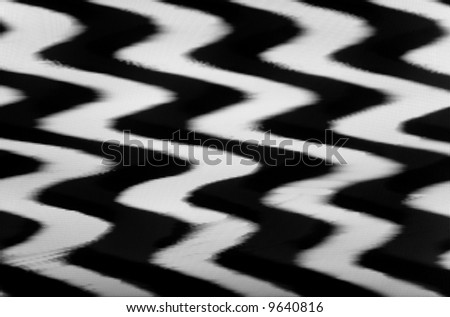 Background made of real TV noise (stripes) - stock photo