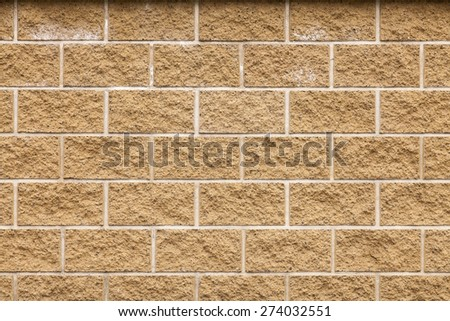 Background made of rough treated sand stone conglomerates - stock photo