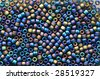 Background made with colorful beads - stock photo