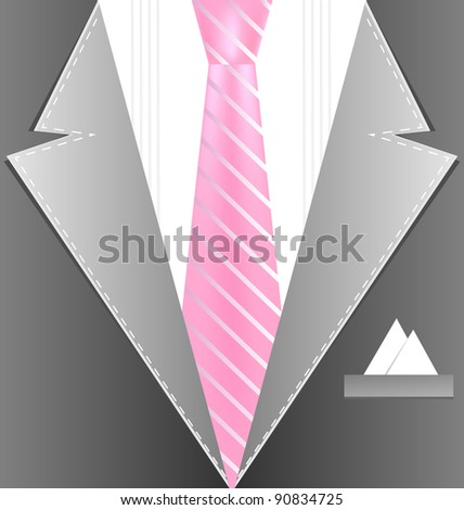 background male costume - stock photo