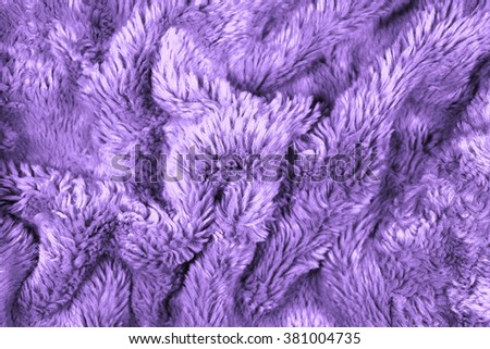 background material fur texture - stock photo