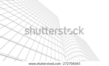 background modern office buildings - stock photo