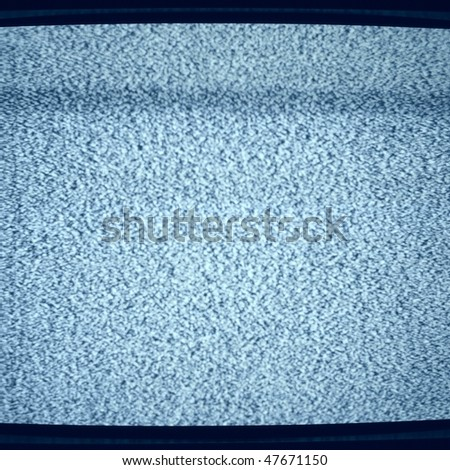 Background noise of flickering detuned TV screen - stock photo