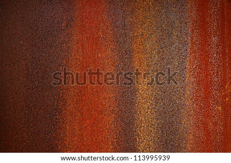 Background of a bumpy and rusty old iron surface - stock photo