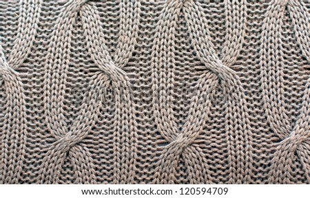 background of a knitted sweater - stock photo