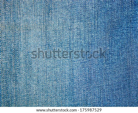 Background of abstract blue fabric jeans background