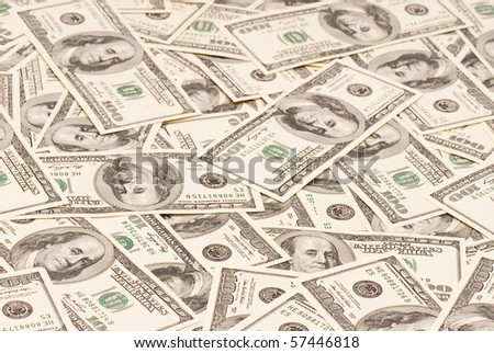background of American money. high resolution. concept. studio.