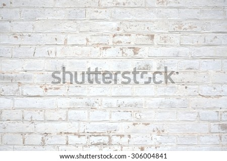 Background of an old Stone wall white - stock photo