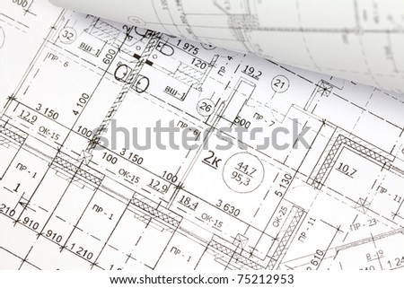 Architectural Drawing Background background architectural drawing stock photo 75212992 - shutterstock