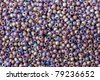 background of beads close up - stock photo