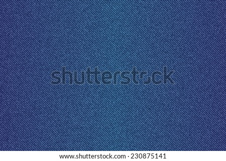 background of blue denim jean - stock photo