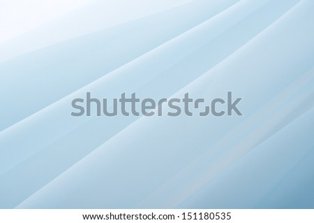 background of blue organza - stock photo