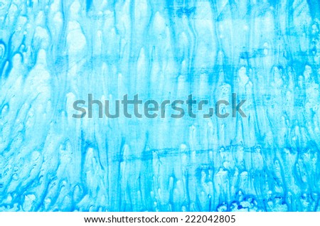 background of blue watercolor  texture
